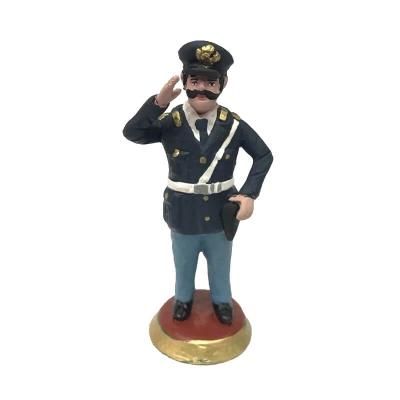 Statuetta Poliziotto 17 cm