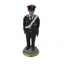 Statuetta Carabiniere in terracotta 17 cm