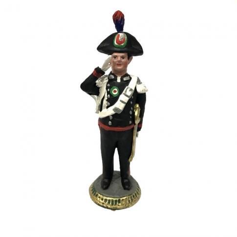 Statuetta Carabiniere in alta uniforme 17 cm
