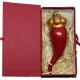 Corno imperiale in terracotta 13 cm con scatola regalo
