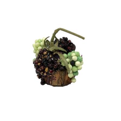 Cestino con uva mista per pastori da 7 a 10 cm