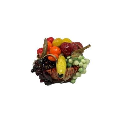 Cestino con frutta per pastori da 7 cm