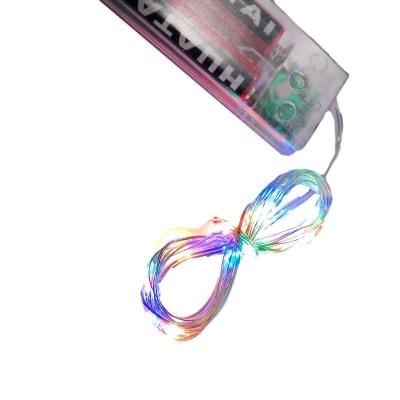 20 Luci Led multicolori a fibra ottica con intermittenza e subacquee
