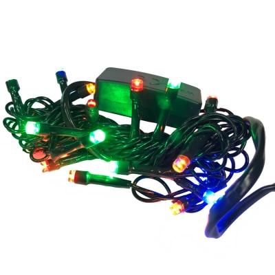 Serie da 20 luci LED multicolori per presepe e albero