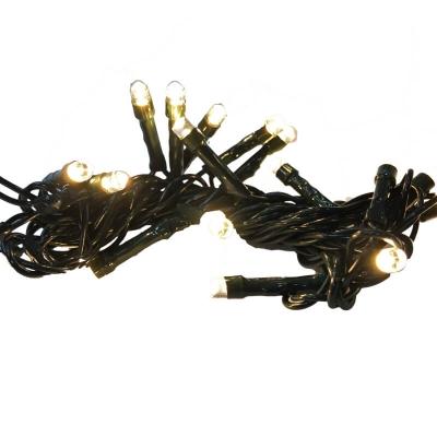 Serie da 20 luci LED gialle per presepe e albero