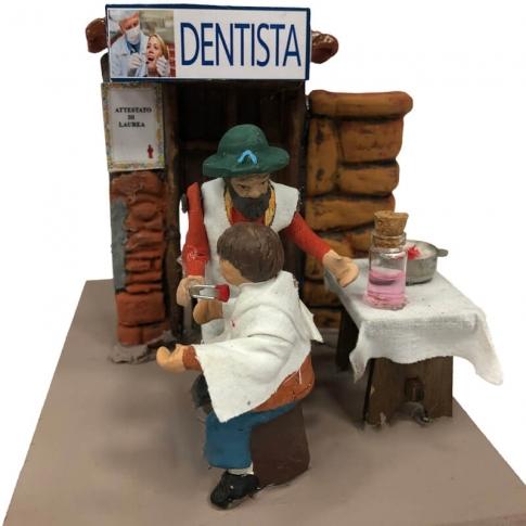 Dentista in movimento 7 cm