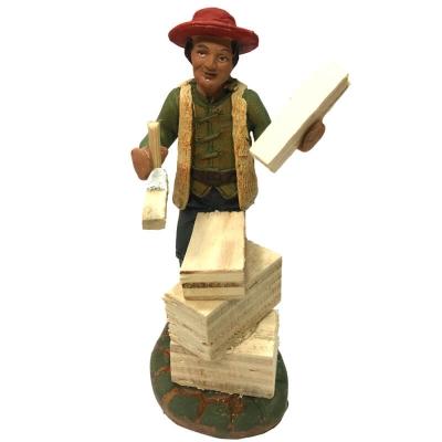 Falegname in terracotta 10 cm