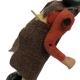 Uomo 8 cm con braccio e busto in movimento