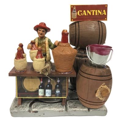 Cantina antica vino 10 cm