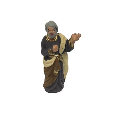 San Giuseppe in terracotta 4 cm