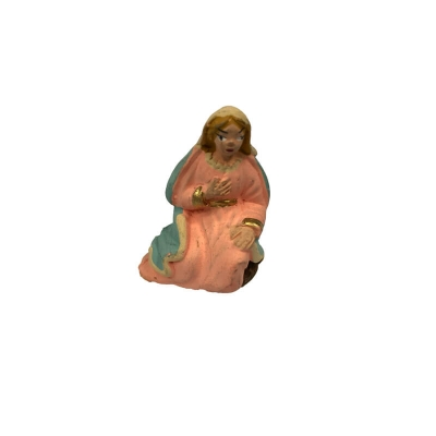 Madonna in terracotta 4 cm