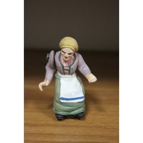 Donna seduta 8 cm con braccio  e busto in movimento