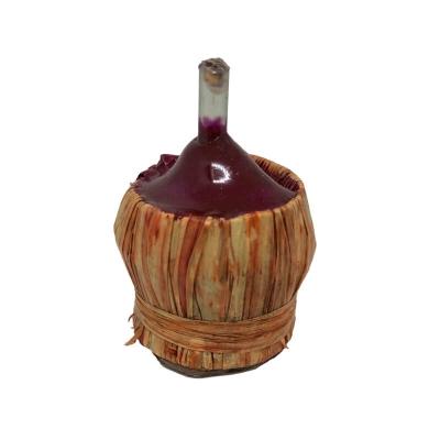 Damigiana con vino per pastori da 15 cm
