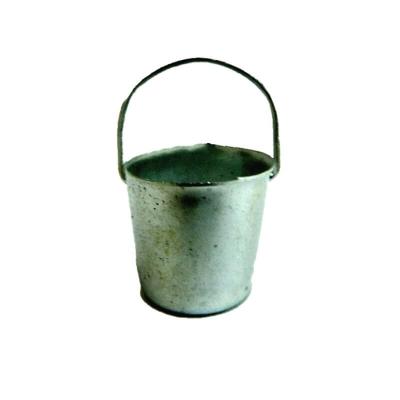 Secchio in metallo per pastori da 10 e 12 cm
