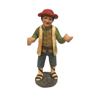 Uomo in terracotta 10 cm