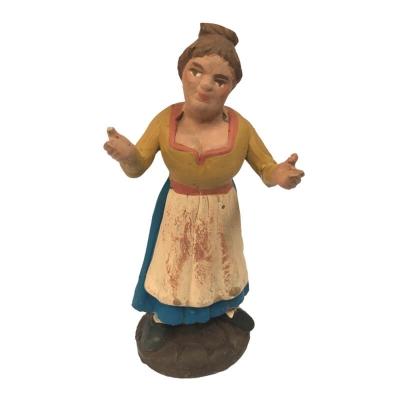 Donna in terracotta 10 cm