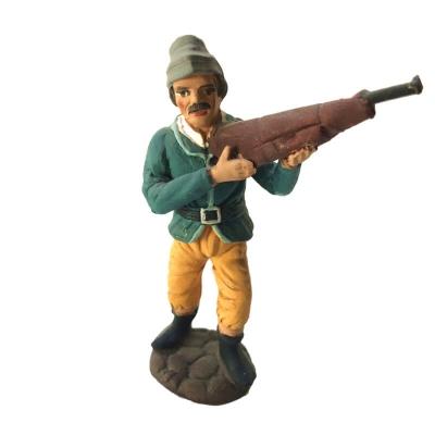 Cacciatore in terracotta 10 cm