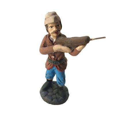 Cacciatore in terracotta 7 cm