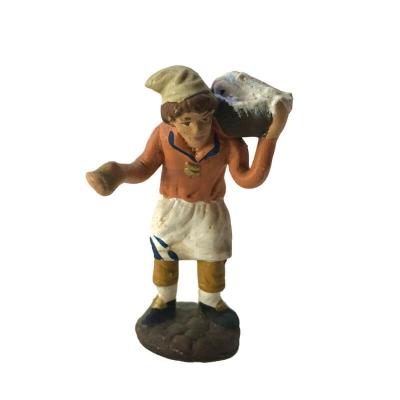 Panettiere che porta la farina in terracotta 7 cm