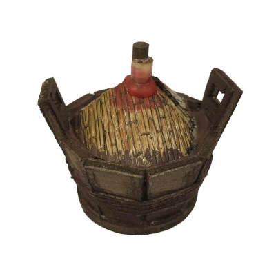 Damigiana in legno per pastori da 15 a 30 cm