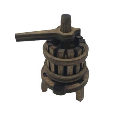 Torchio in legno artigianale da 6 cm