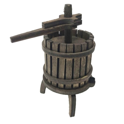 Torchio in legno artigianale 9 cm