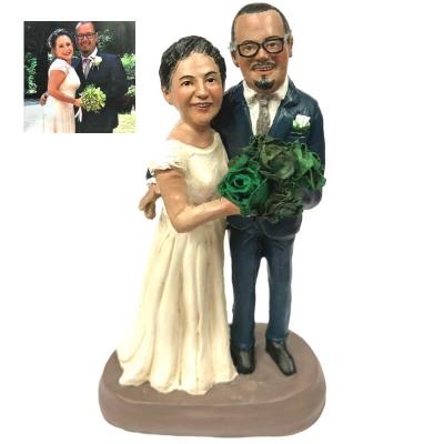 Statuina sposi personalizzata