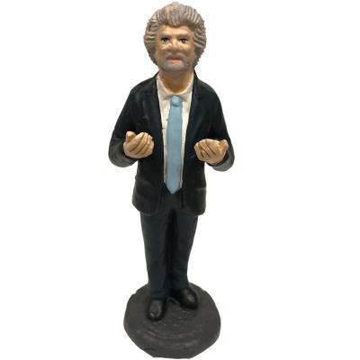 Statuetta Beppe Grillo in terracotta 17 cm